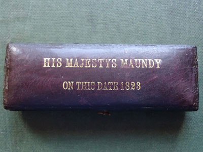 1823 maundy set case