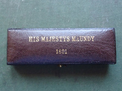 1831 maundy set case