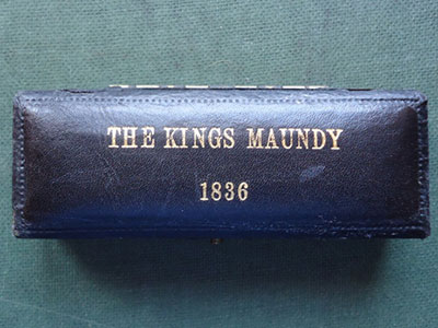 1836 maundy set case