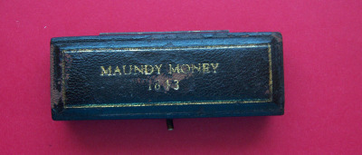 1843 maundy set case
