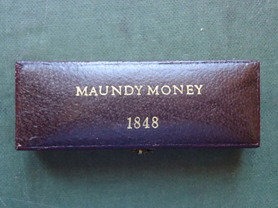 1848 maundy set case