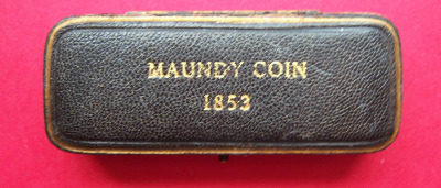 1853 maundy set case