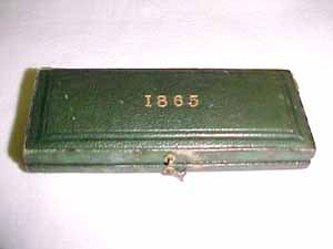 1865 maundy set case