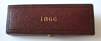 1866 maundy set case