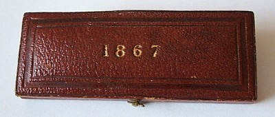 1867 maundy set case