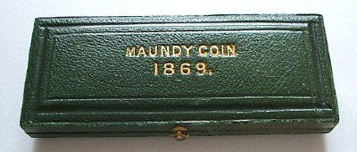 1869 maundy set case