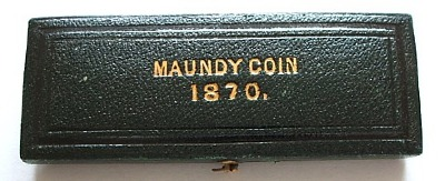 1870 maundy set case