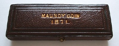 1871 maundy set case