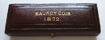 1872 maundy set case