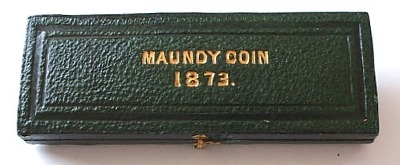 1873 maundy set case