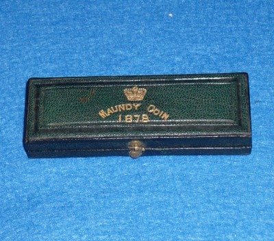 1878 maundy set case
