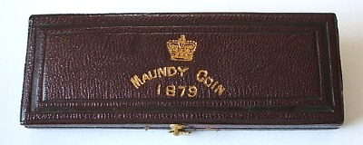 1879 maundy set case