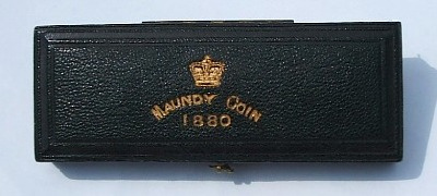 1880 maundy set case