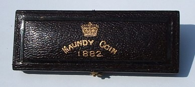 1882 maundy set case