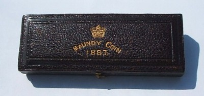 1883 maundy set case