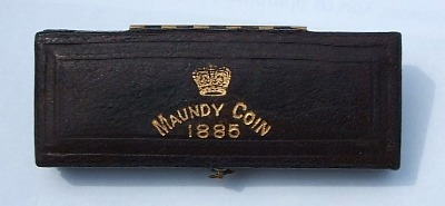 1885 maundy set case