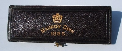 1886 maundy set case