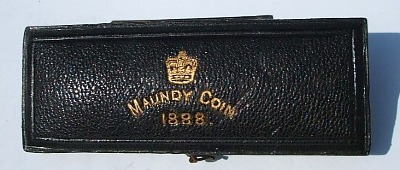 1888 maundy set case