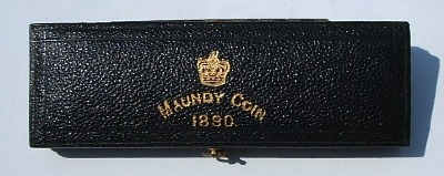 1890 maundy set case