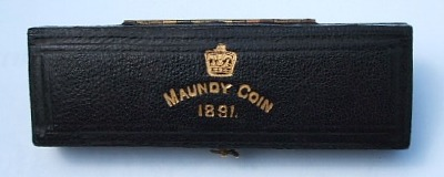 1891 maundy set case
