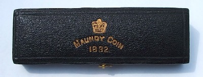 1892 maundy set case