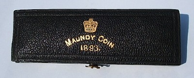 1893 maundy set case
