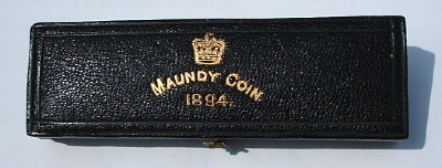 1894 maundy set case