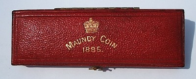 1895 maundy set case