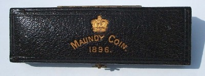 1896 maundy set case