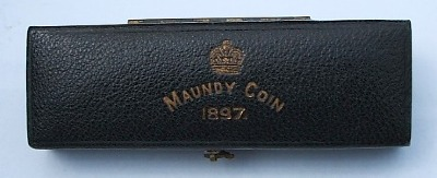1897 maundy set case