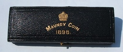 1898 maundy set case