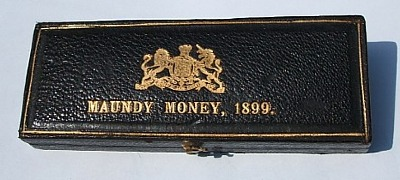 1899 maundy set case