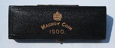 1900 maundy set case