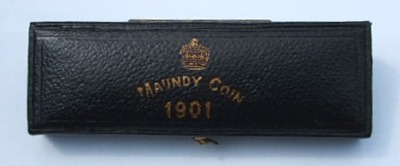 1901 maundy set case