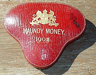 1902 Heart maundy set case closed