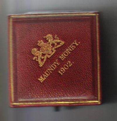1902 maundy set case