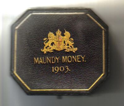 1903 black maundy set case