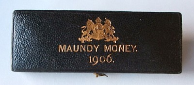 1906 maundy set case