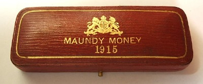 1915 maundy set case