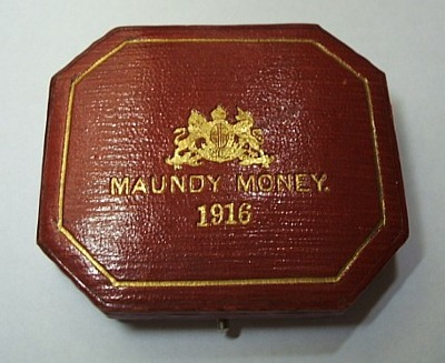 1916 maundy set case