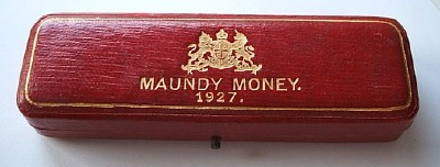 1927 maundy set case