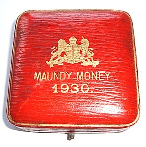 1930 maundy set case