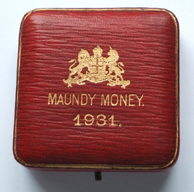 1931 maundy set case