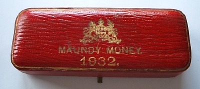 1932 maundy set case