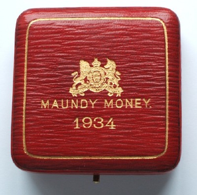 1934 maundy set case