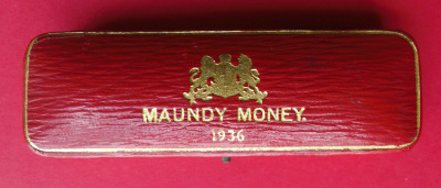 1936 maundy set case