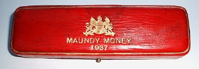 1937 maundy set case