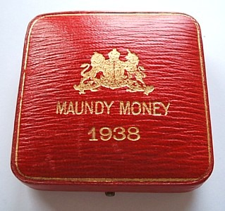 1938 maundy set case