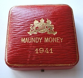 1941 maundy set case