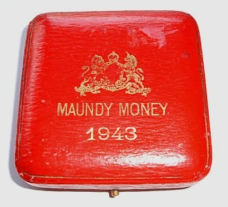 1943 maundy set case